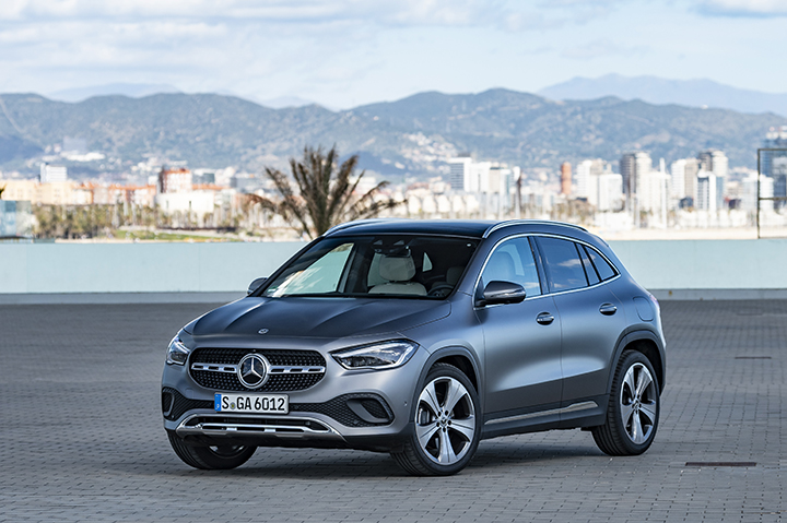 2020 Mercedes-Benz GLA Launched With Premium Features