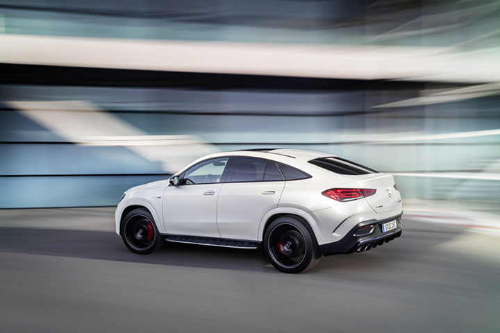 2020 Mercedes-AMG GLE 63 4Matic+ Coupé Breaks Cover With 600+ Horsepower