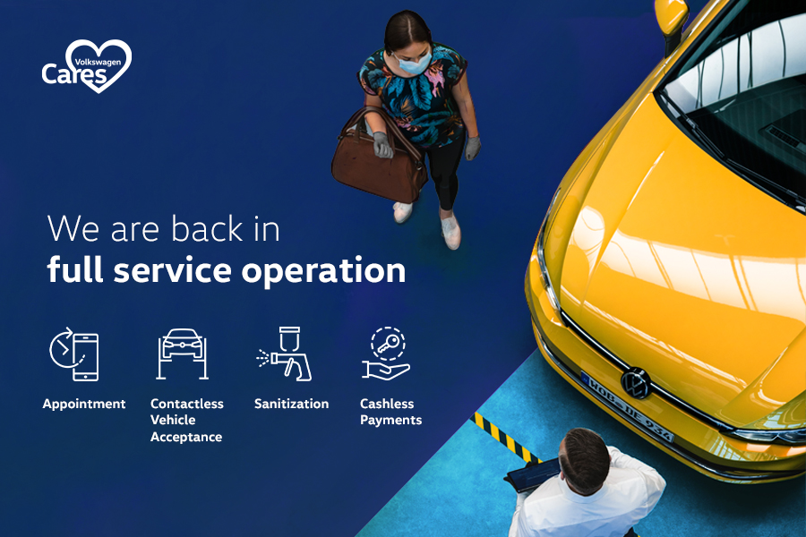 Volkswagen Service Centres Around Malaysia Resumes Operation